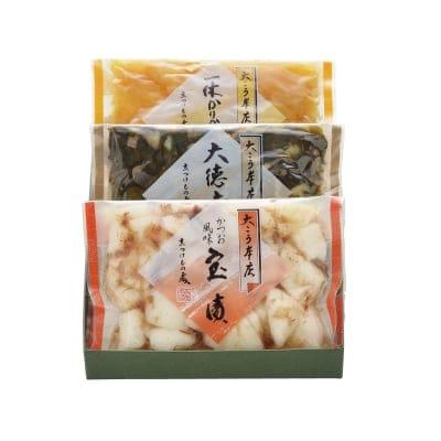 【京都漬物ギフト】味めぐり H-15