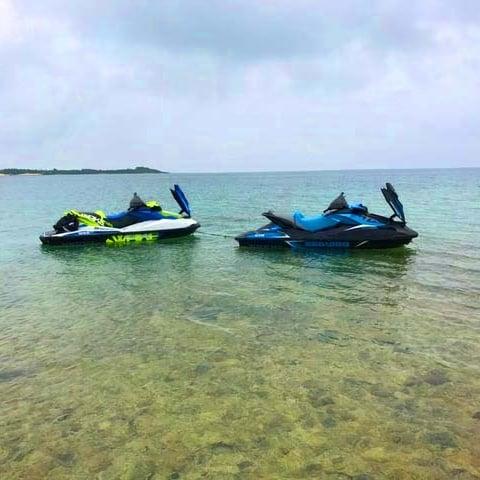 無人島ジェットスキー(水上バイク)ツアーのイメージその4