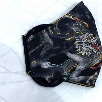 松山匠オリジナルマスク 1点もの 龍(右面)Mサイズ