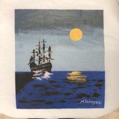 Tシャツ「海賊船」