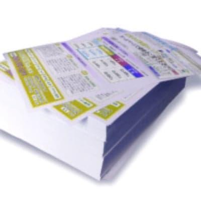 チラシ A4 片面カラー 500枚  ( データもらい、印刷のみ )