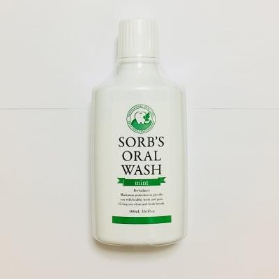 SORB'S ORAL WASH 《 mint 》(洗口液)