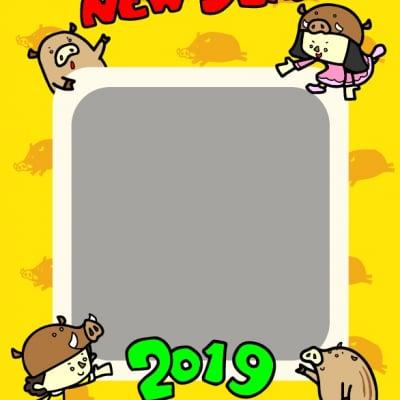 2019 年賀状 データ作成