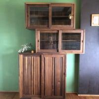 【無垢材】ウォールナットの食器棚