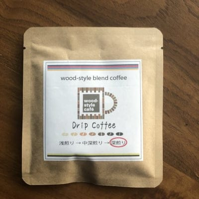 【ドリップコーヒー】wood-style blend coffee 10袋