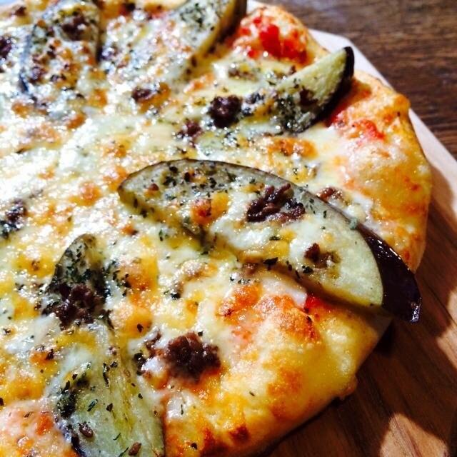 【ピザ】C(ひき肉、なす)のイメージその2