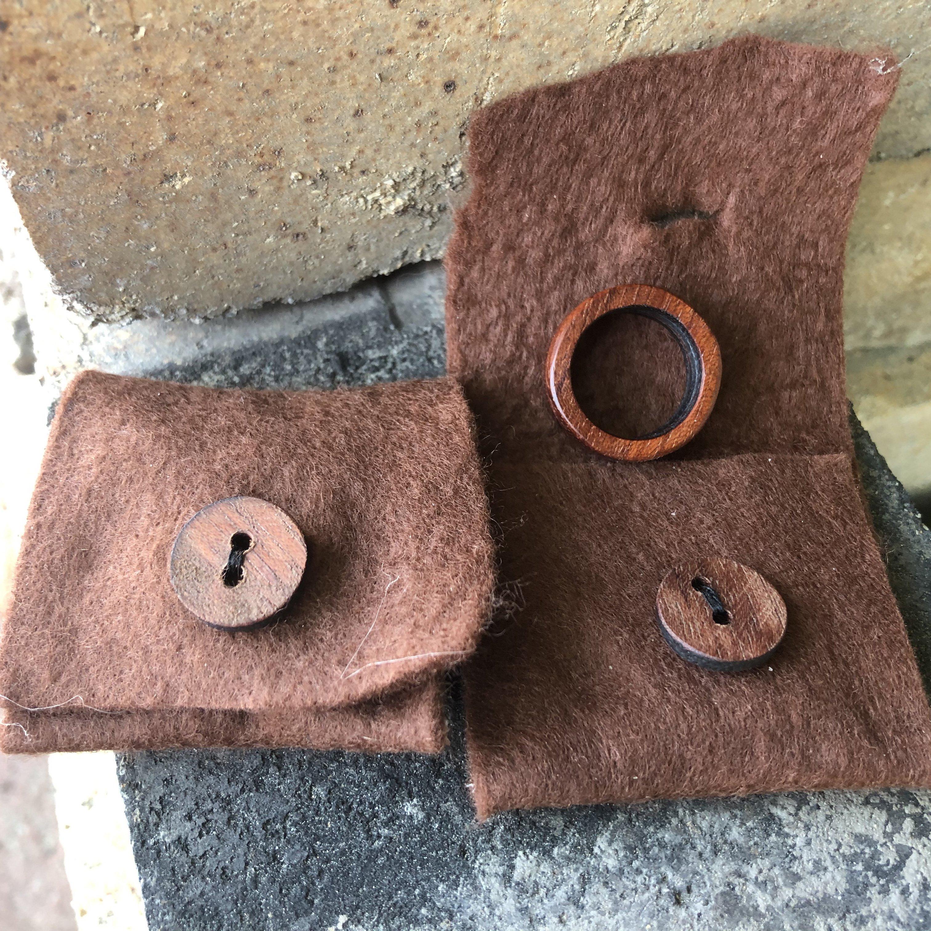 【M様専用】wood-Ring 《ペア 木婚式 木の指輪》のイメージその3