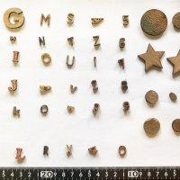 [複製]【木製文字パーツ】木製,切り文字,アルファベット,工作 no.2