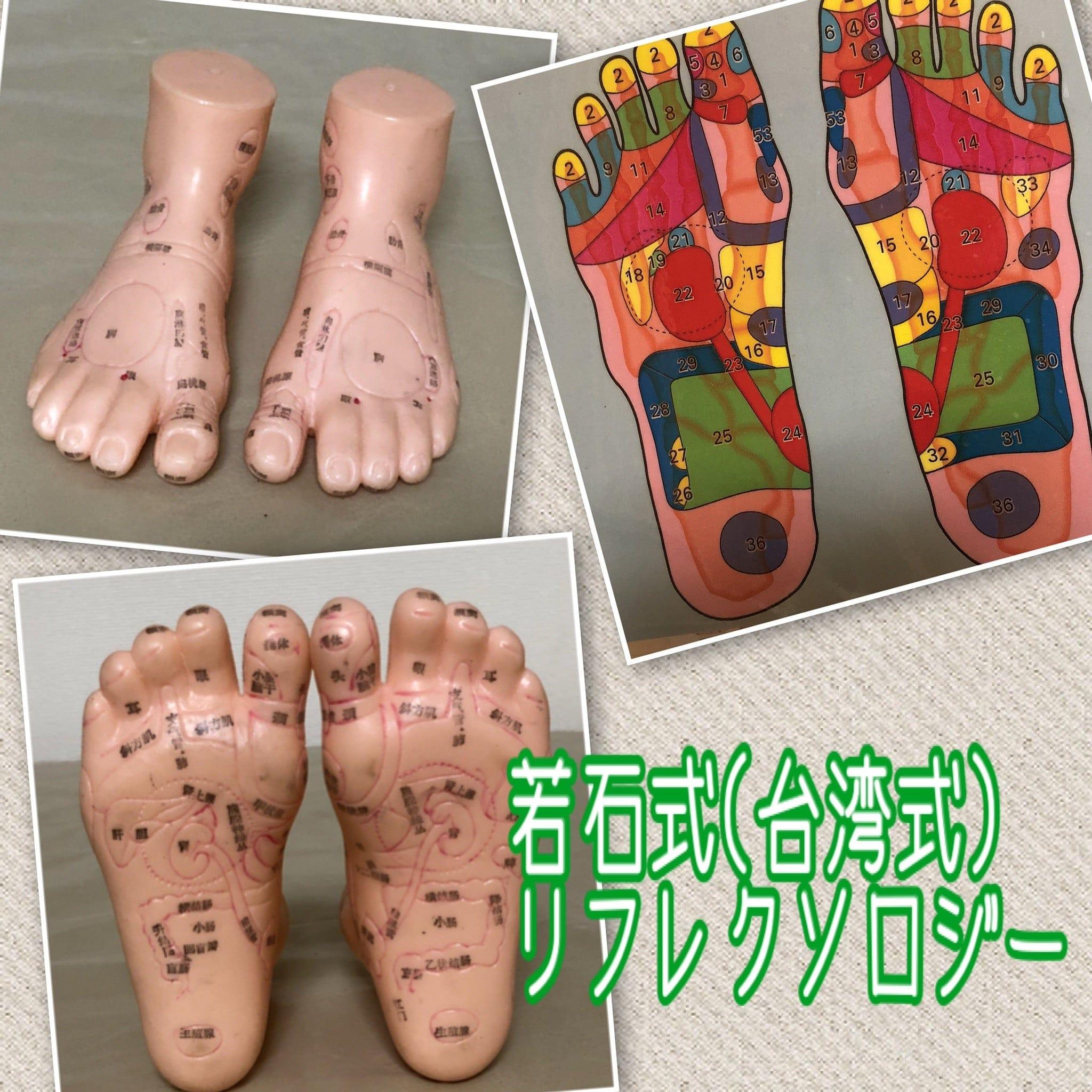 若石式(台湾式)足もみのイメージその1