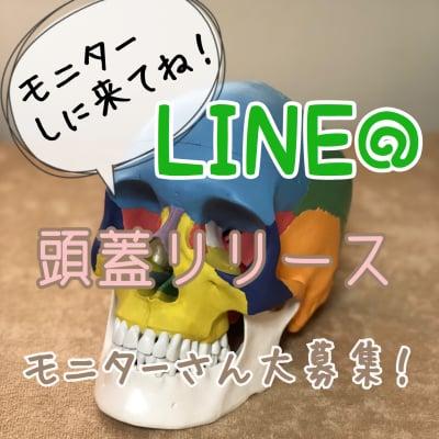 頭蓋リリースモニターLINE@お友達限定
