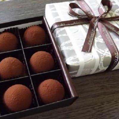 生キャラメルショコラ6個入/生キャラメルの甘さと生チョコの口の中で溶...