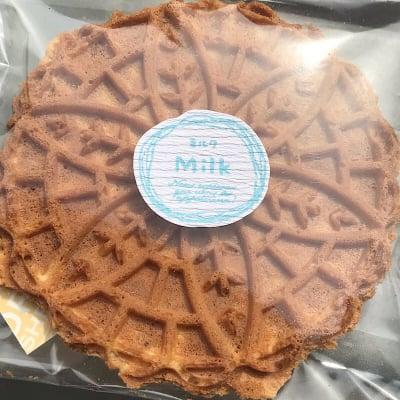 """せんべい""""洋風煎餅""""2枚入り16袋セット ミルク味/クルミ味"""