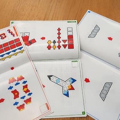 具体物から幾何学模様までつくれるぱちぱちLaQテキスト【基本】(3冊セット)