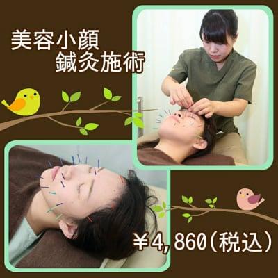 美容小顔リラクゼーション鍼灸チケット