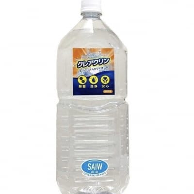 ウイルス除菌!500mlあたり541円!スーパーアルカリイオン水2L×6本