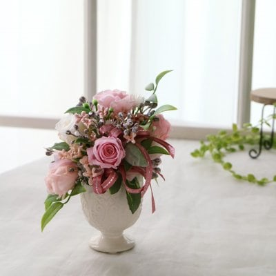 【色×お花で心に癒やしを♡】カラーセラピーフラワー(コーラルピンク)
