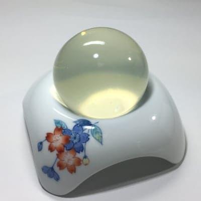 「白美の雫 洗顔石鹸(100g)」+専用ソープディッシュ(桜)