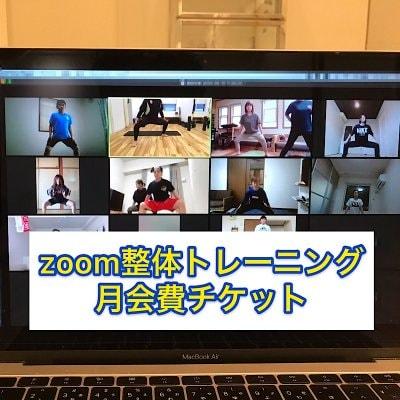 ZOOM整体トレーニング 月会費チケット
