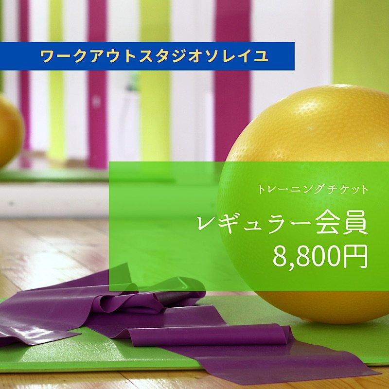 SOLEIL【レギュラー会員】月会費 8,800円チケットのイメージその1