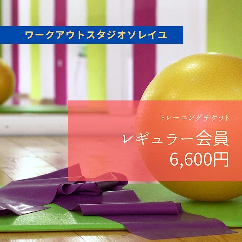 SOLEIL【レギュラー会員】月会費 6,600円チケットのイメージその1
