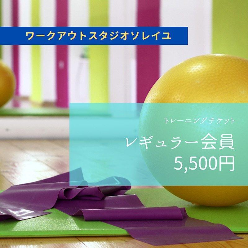 SOLEIL【レギュラー会員】月会費 5,500円チケットのイメージその1