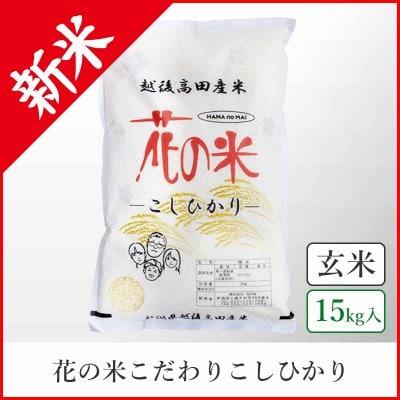 【本州送料込】こだわりこしひかり《玄米15kg》