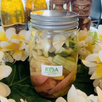 【店頭受取り専用】KOA特製「島野菜のピクルス」(ピクルス液付き)420g