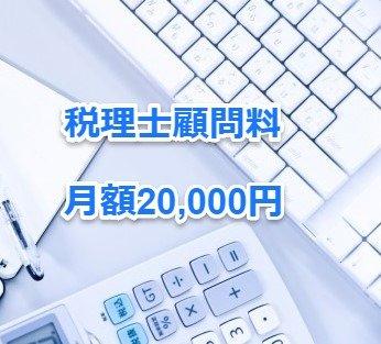 税理士顧問料月額20,000円(法人用)のイメージその1