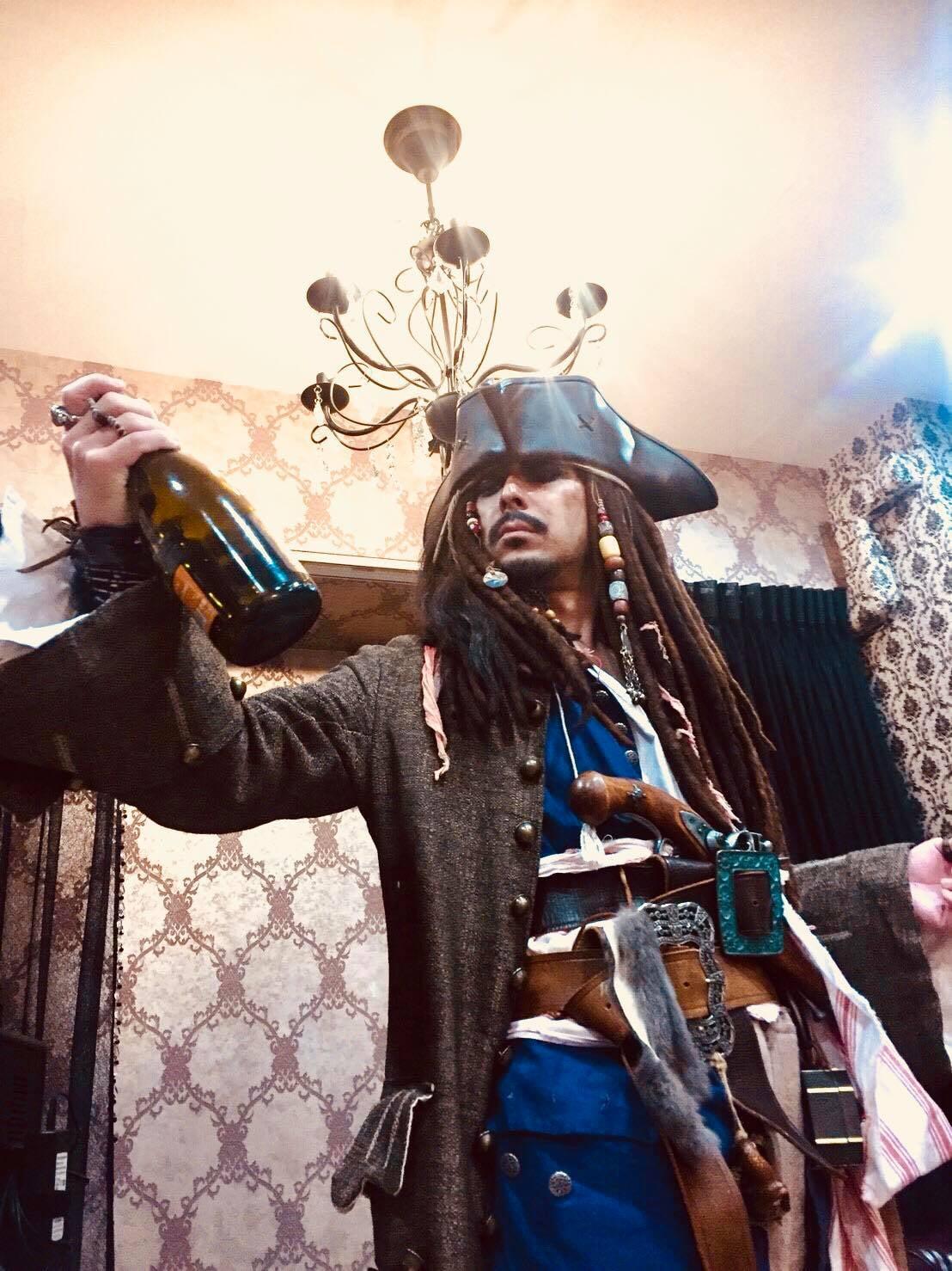 【結婚式の二次会司会】あの海賊が登場!!ゴーゴースパロウのイメージその2