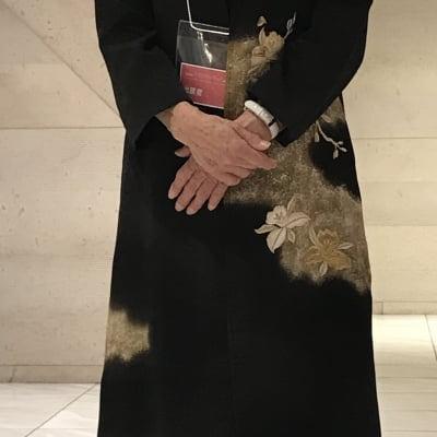 着物リメイクコート 留袖 仕立て例