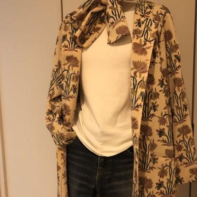 着物リメイクコート 現品販売  在庫作品