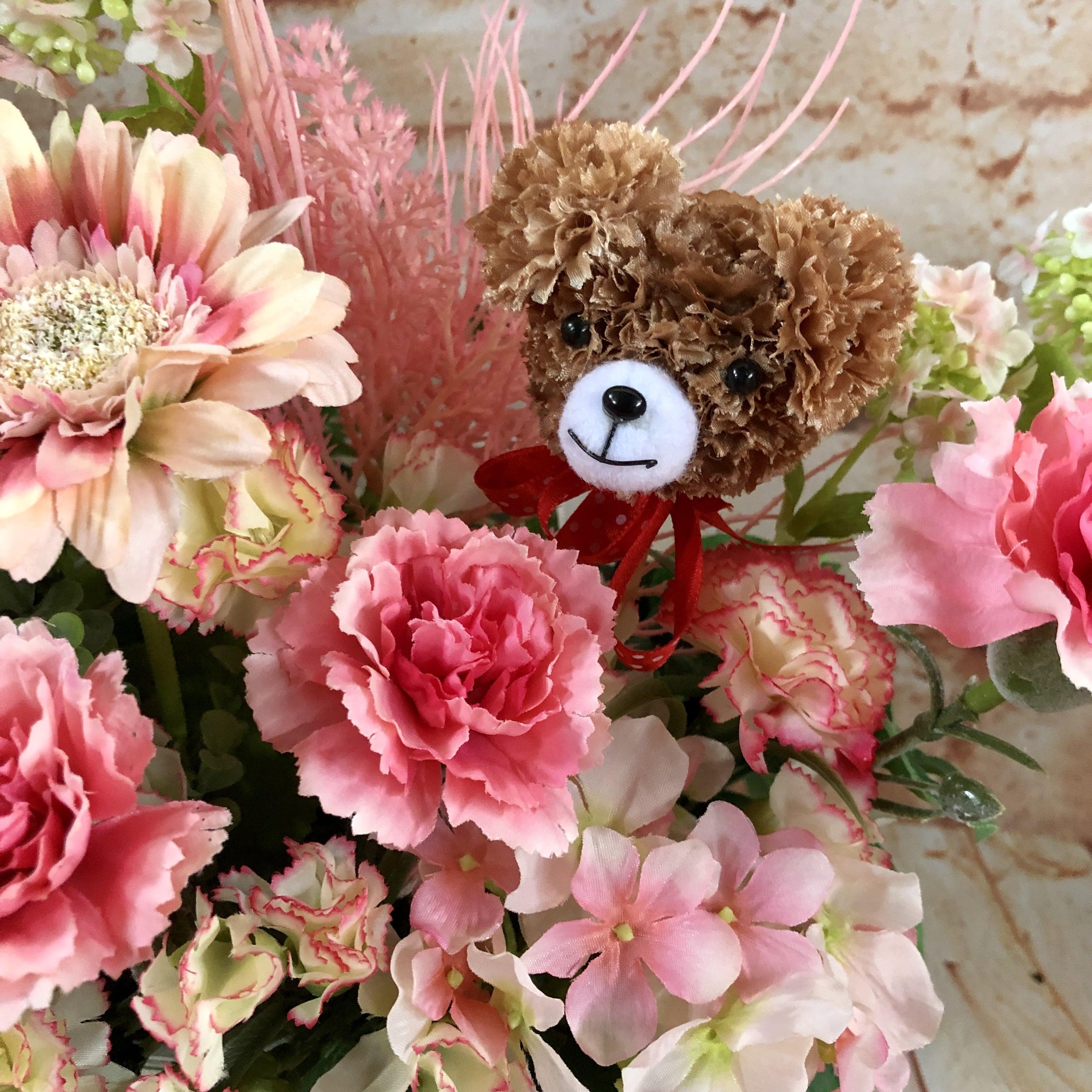 【店頭引取り専用】数量限定 母の日カーネーションアレンジ/プレゼント/ピンク/枯れないお花造花/プレゼントに喜ばれる/大切な人へのプレゼント/贈答用/特別なプレゼント/形に残る/人とは違う物がいい/母-2のイメージその5