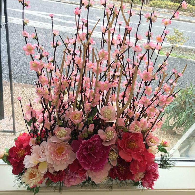 【毎月交換】季節のお花アレンジメントのイメージその1