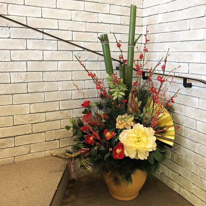 【毎月交換】季節のお花アレンジメントのイメージその2