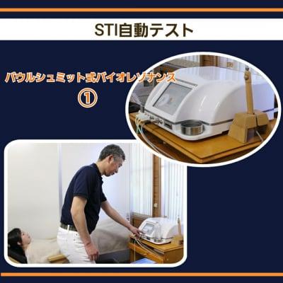 ①STI自動テスト/パウルシュミット式バイオレゾナンス施術チケット