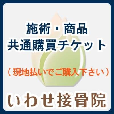 1,000円(税抜)/施術・商品共通購買チケット※単品購入の場合は現地払い選択をお願いいたします