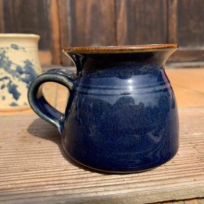 インド 紺色マグカップ(小)