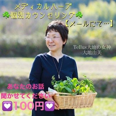 【メール】メディカルハーブ(植物療法)個別カウンセリング/メール
