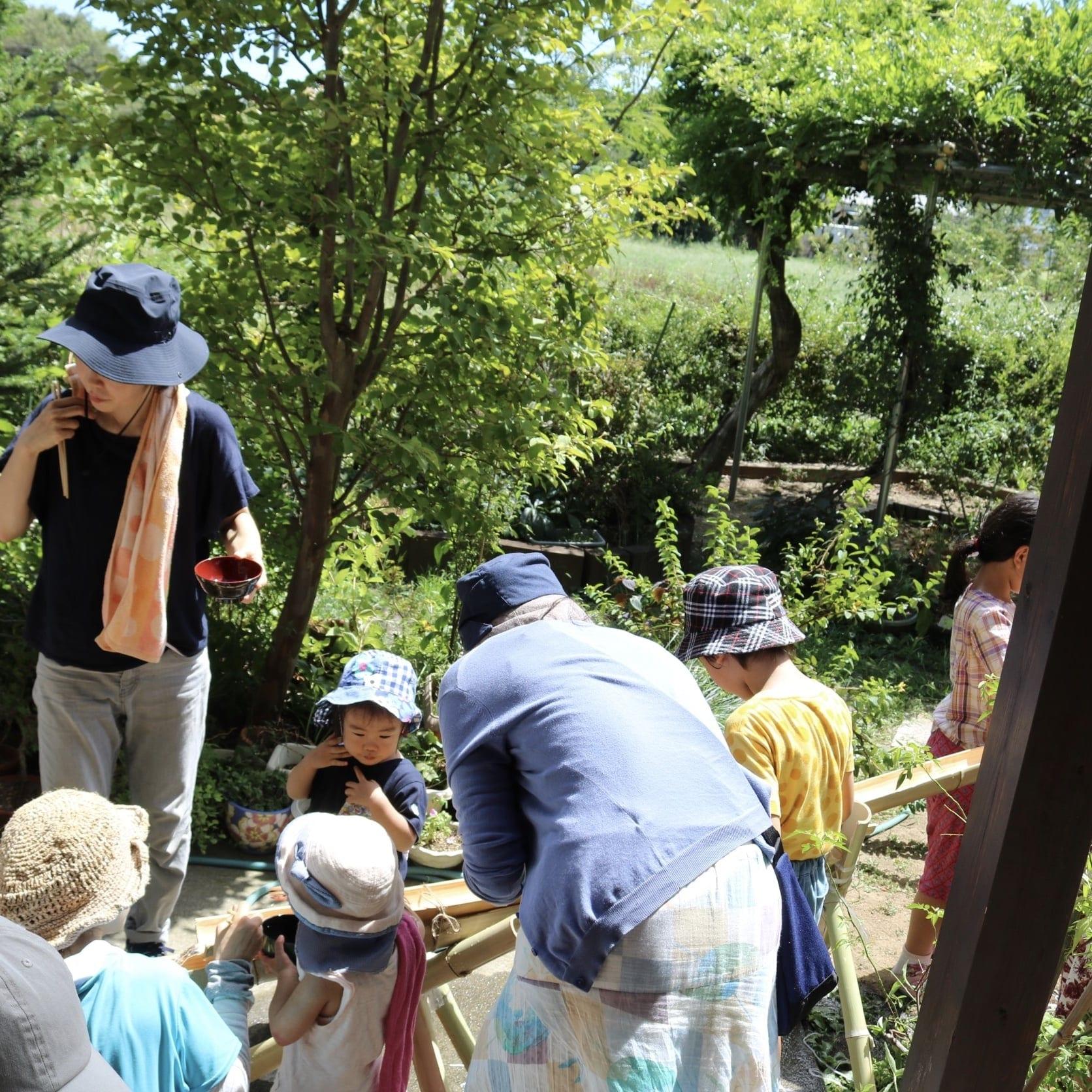 8/25(日)[さいたま市・農業体験]草取り&流しそうめんのイメージその1