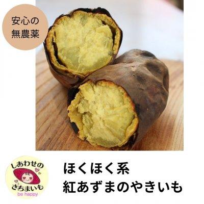 無農薬の焼き芋  ほくほくの紅あずま(無農薬)6〜8本、1キロ【ご予約】