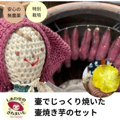 【超人気!】焼き芋食べ比べ(石&壷)1〜2種 6〜8本入り(冷凍ま...