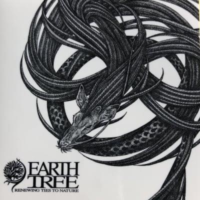 EARTH TREE-アースツリー-ステッカー地球樹-/天描画家/大城清太