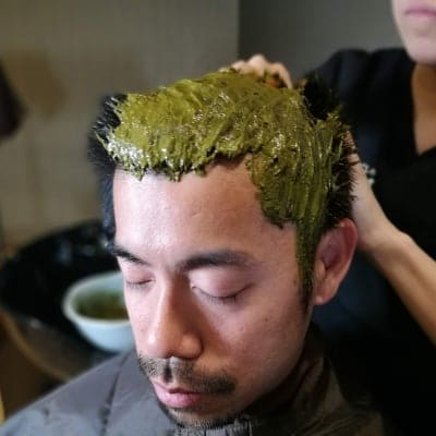 【Qush:miAAAヘナを使用】頭皮からのデトックス デトックスヘナ(ミディアム) 85分