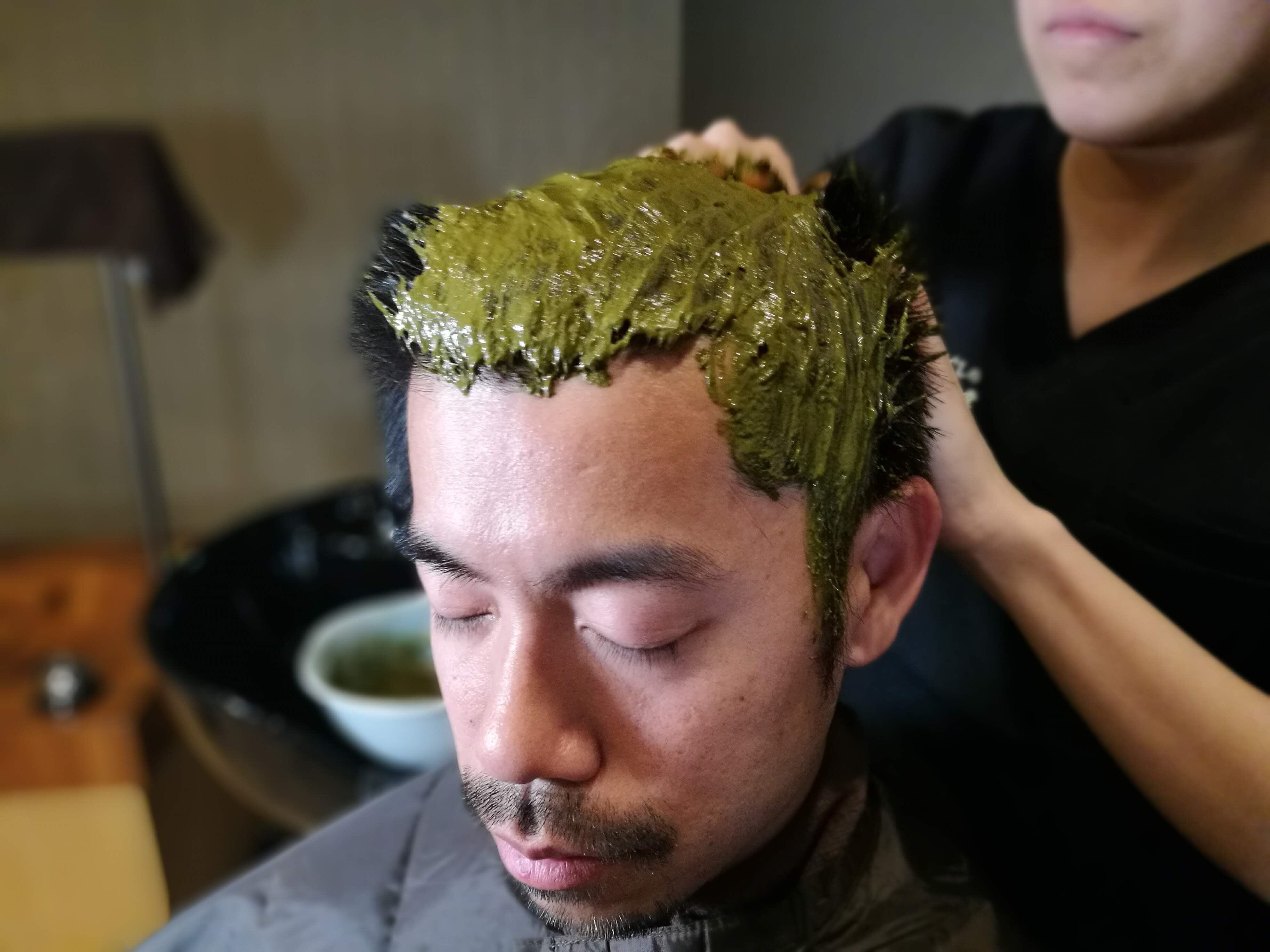 【Qush:miAAAヘナを使用】頭皮からのデトックス デトックスヘナ(ミディアム) 85分のイメージその1