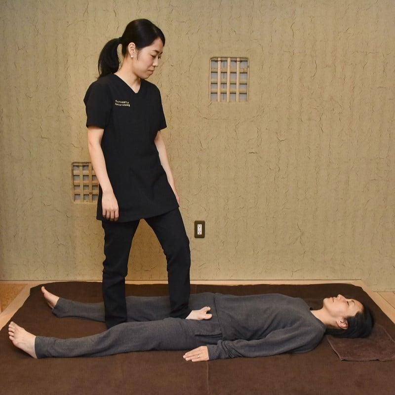 【フミフミリンパ】60分 全身に陽圧(足圧)をかけながらほぐし、リンパを流す施術です。のイメージその2