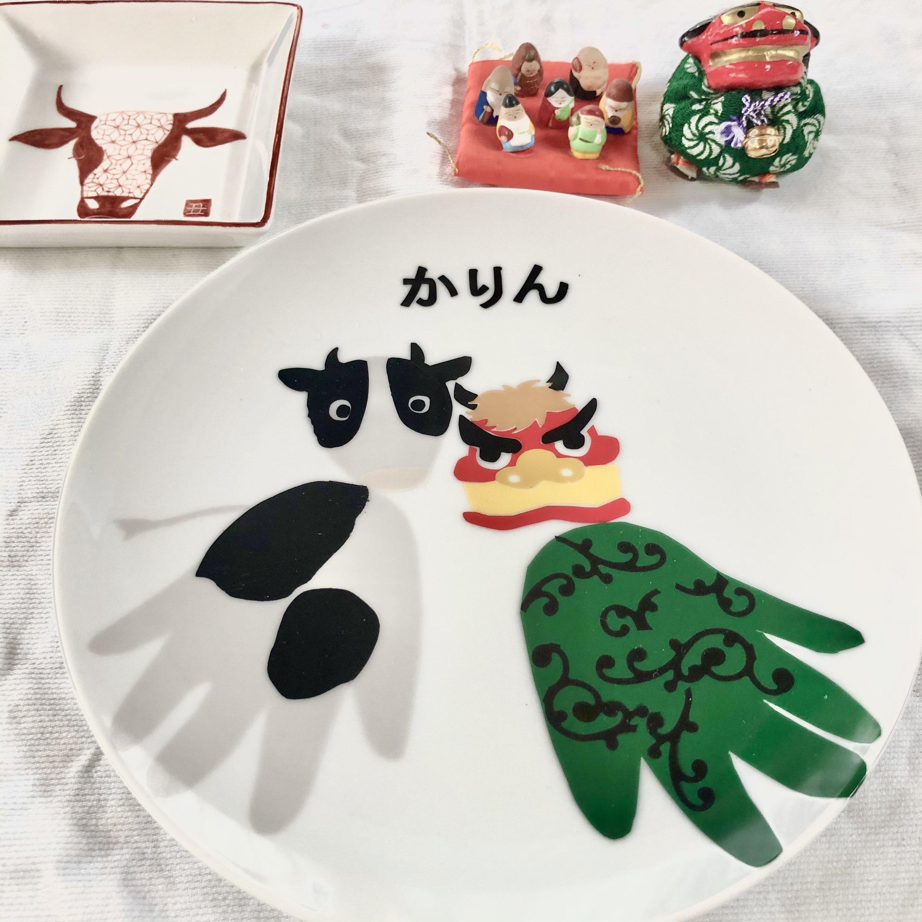 赤ちゃんの手形プレート製作オンラインレッスンのイメージその2