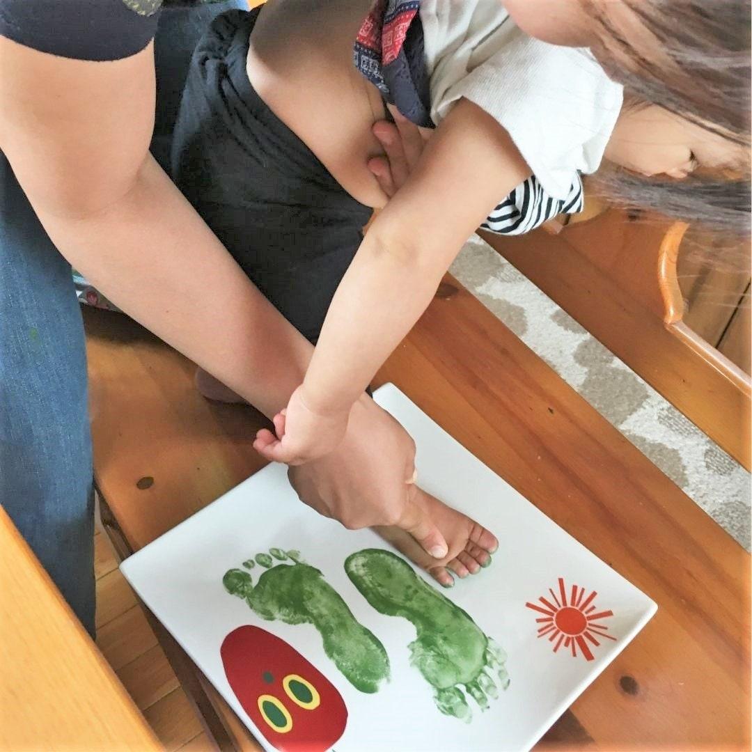 赤ちゃんの手形プレート製作オンラインレッスンのイメージその4