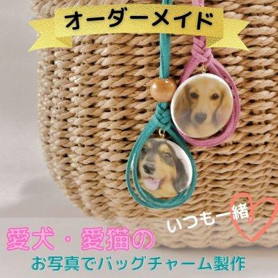 【愛犬家のための】我が家のペットの写真でバッグチャーム製作