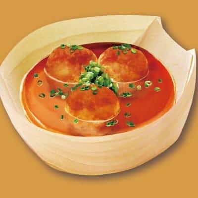 【店頭払い・店内限定】スープたこ焼き