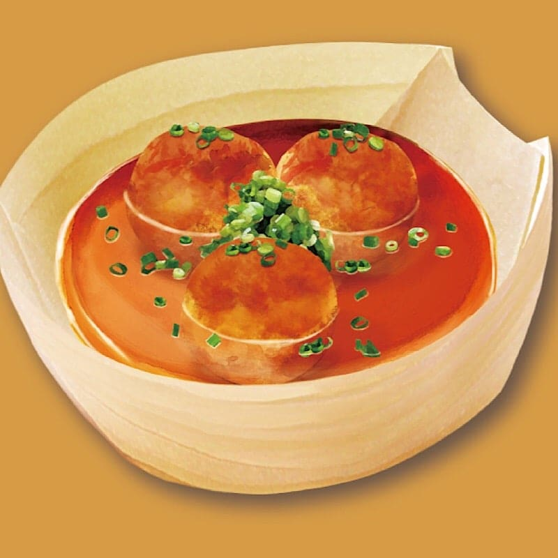 【店頭払い・店内限定】スープたこ焼きのイメージその1